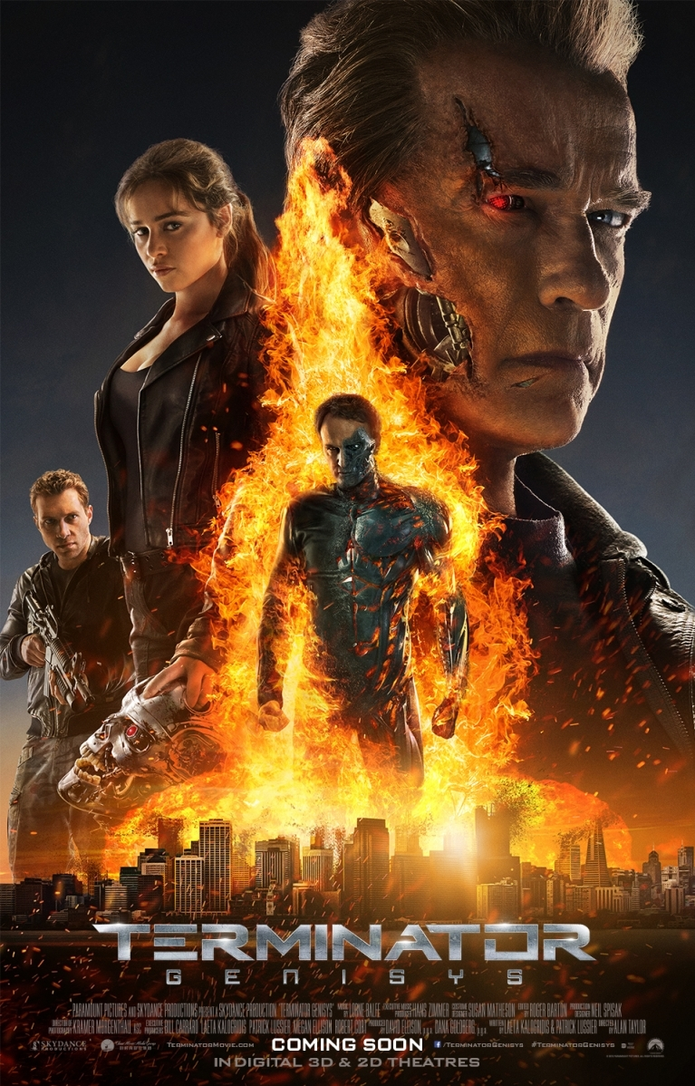 Terminator: Genisys poster, © 2015 Universal Pictures
