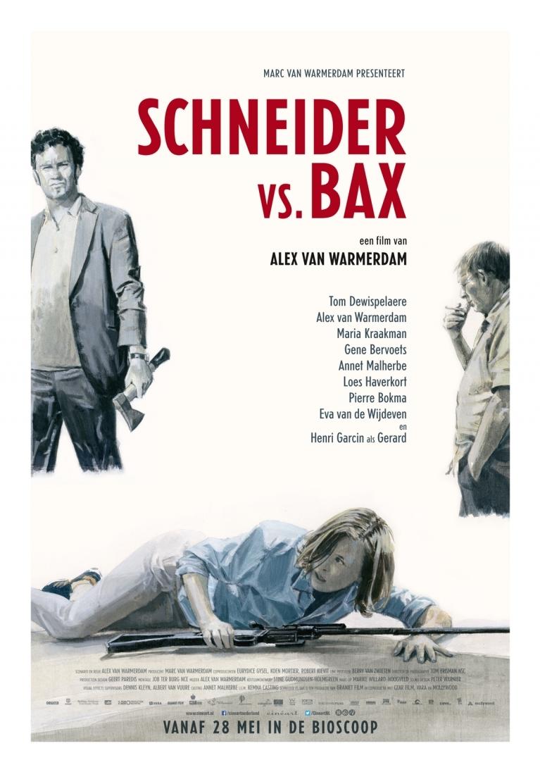 Schneider vs. Bax poster, © 2015 Cinéart