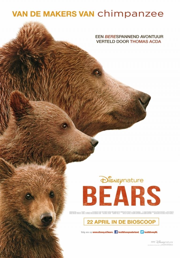 Bears poster, © 2014 Walt Disney Pictures