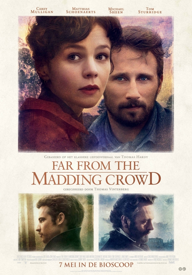 Far from the Madding Crowd poster, © 2015 20th Century Fox
