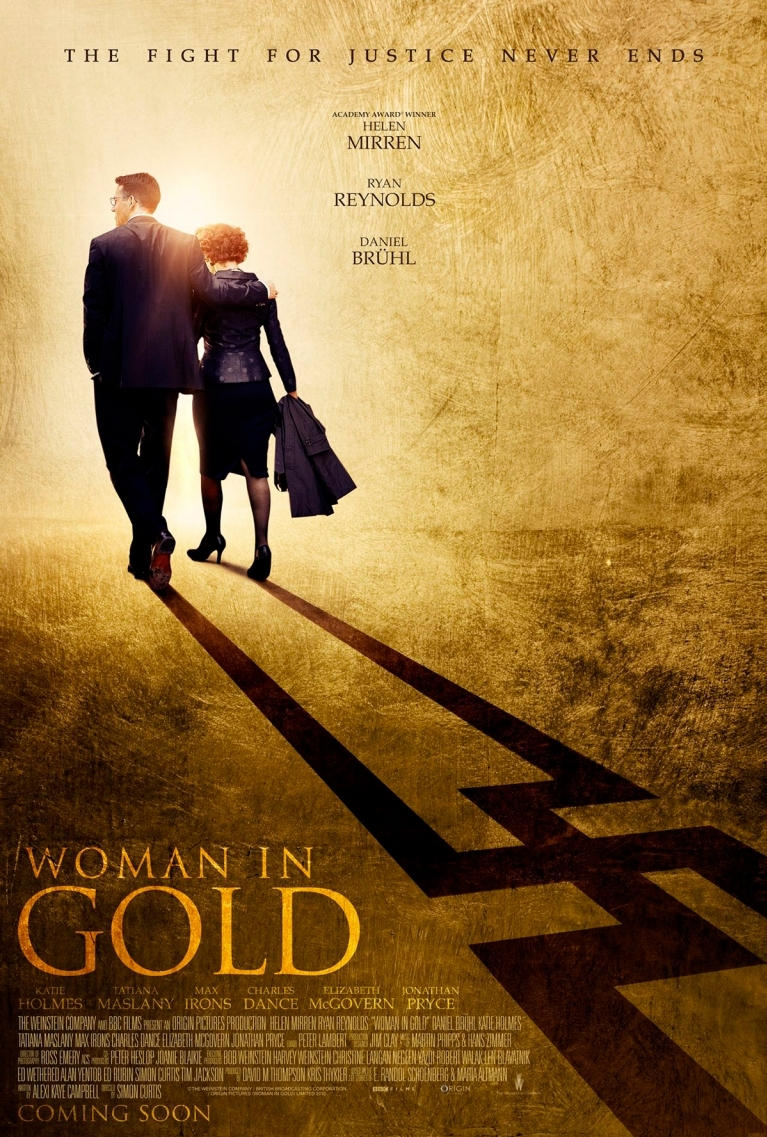 Woman in Gold poster, © 2015 E1 Entertainment Benelux