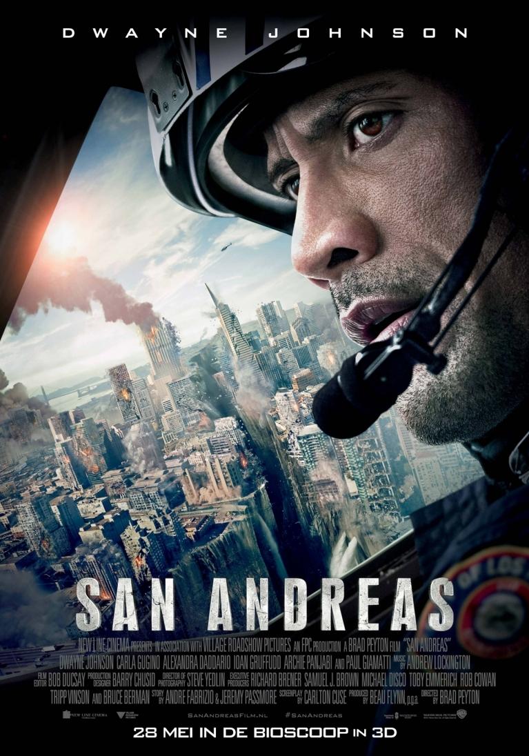 San Andreas poster, © 2015 Warner Bros.