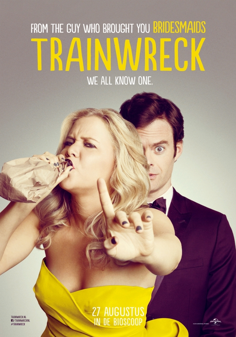 Trainwreck poster, © 2015 Universal Pictures