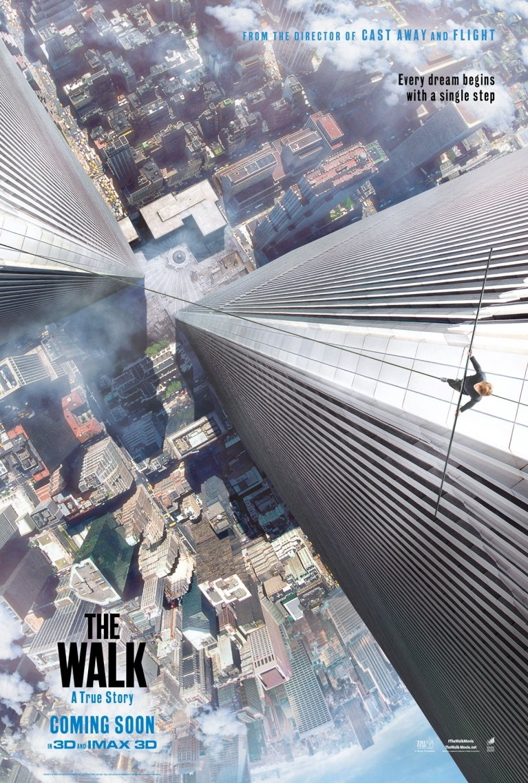 The Walk poster, © 2015 Universal Pictures International