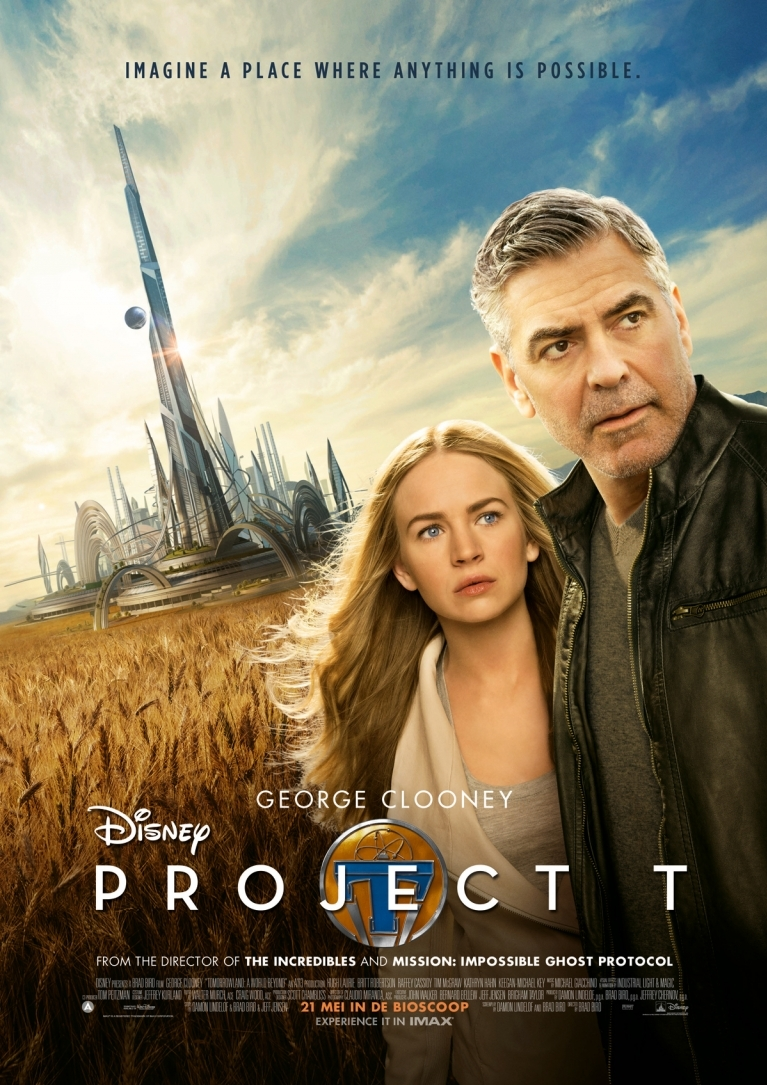 Tomorrowland poster, © 2015 Walt Disney Pictures