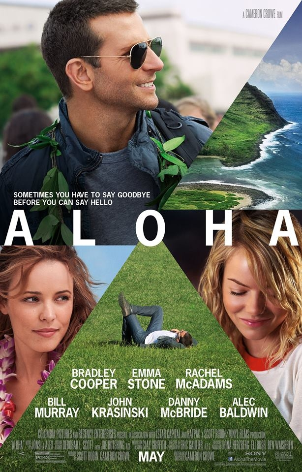 Aloha poster, © 2015 Twentieth Century-Fox Film Corporation