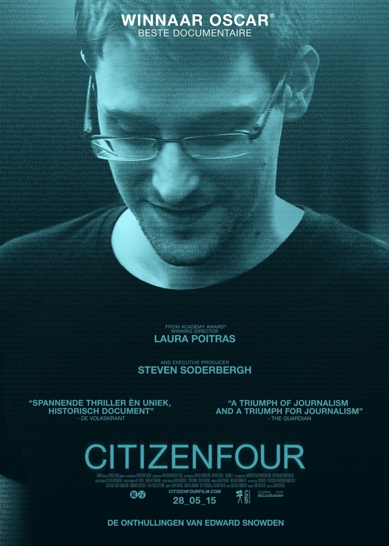 Citizenfour poster, © 2014 Cinema Delicatessen