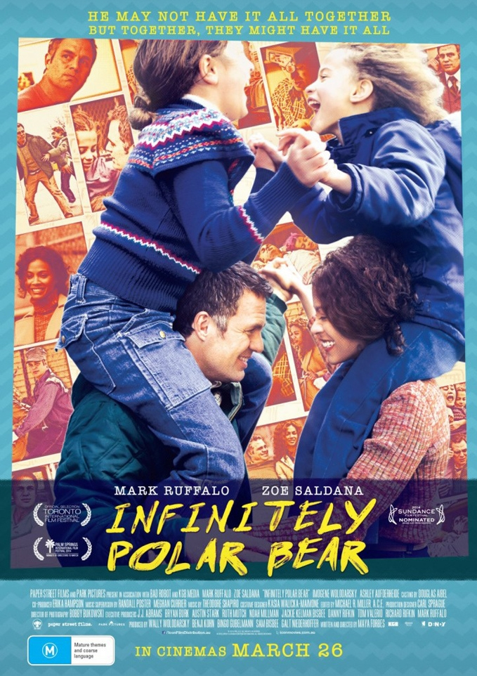 Infinitely Polar Bear poster, © 2014 A-Film Distribution
