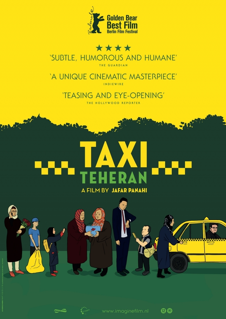 Taxi poster, © 2015 Imagine