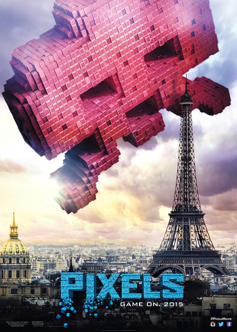Pixels poster, © 2015 Universal Pictures International