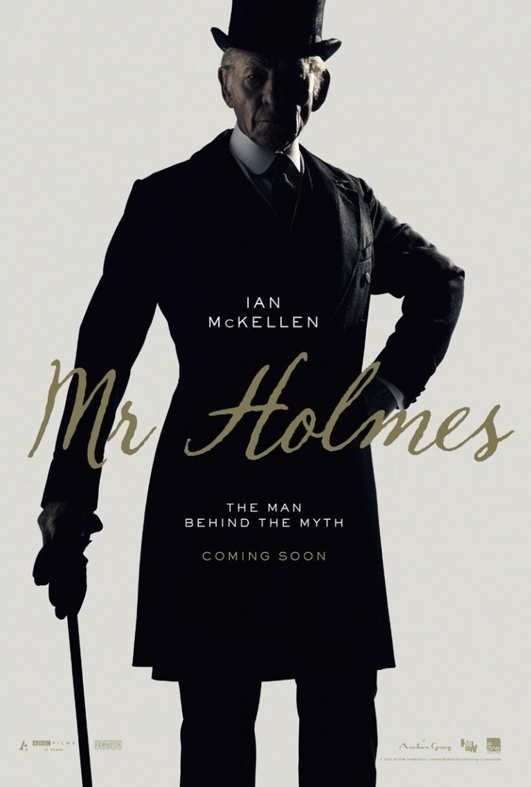 Mr. Holmes poster, © 2015 Paradiso
