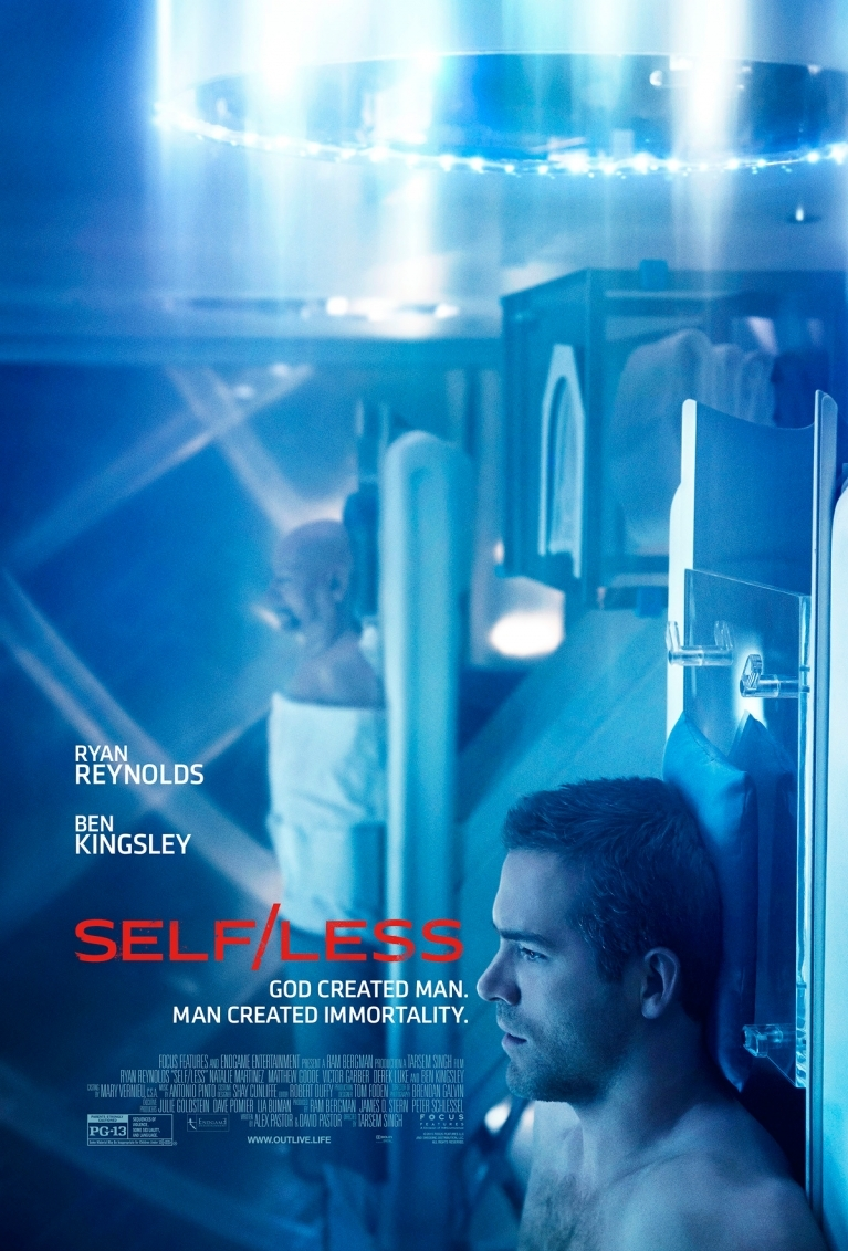 Self/less poster, © 2015 Entertainment One Benelux