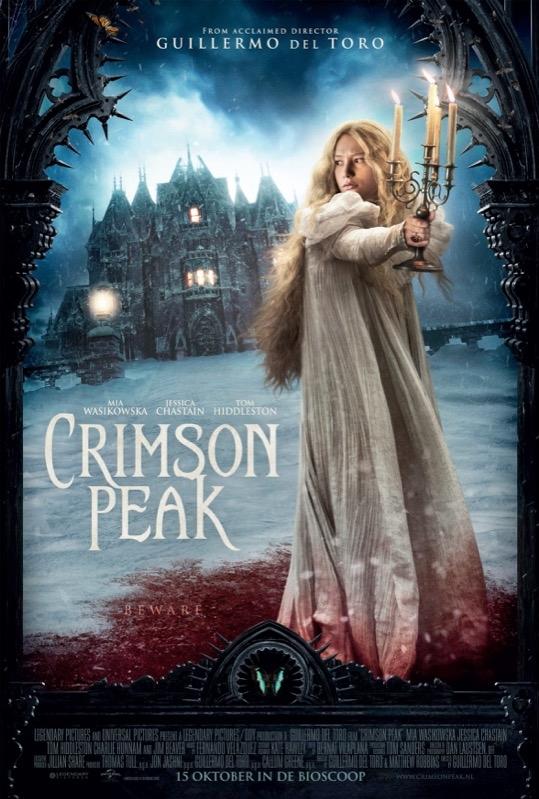 Crimson Peak poster, © 2015 Universal Pictures International