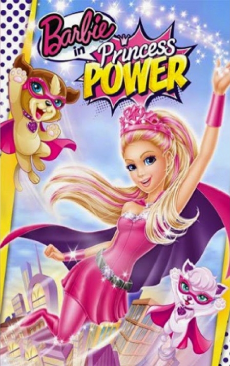 Barbie in Princess Power poster, copyright in handen van productiestudio en/of distributeur
