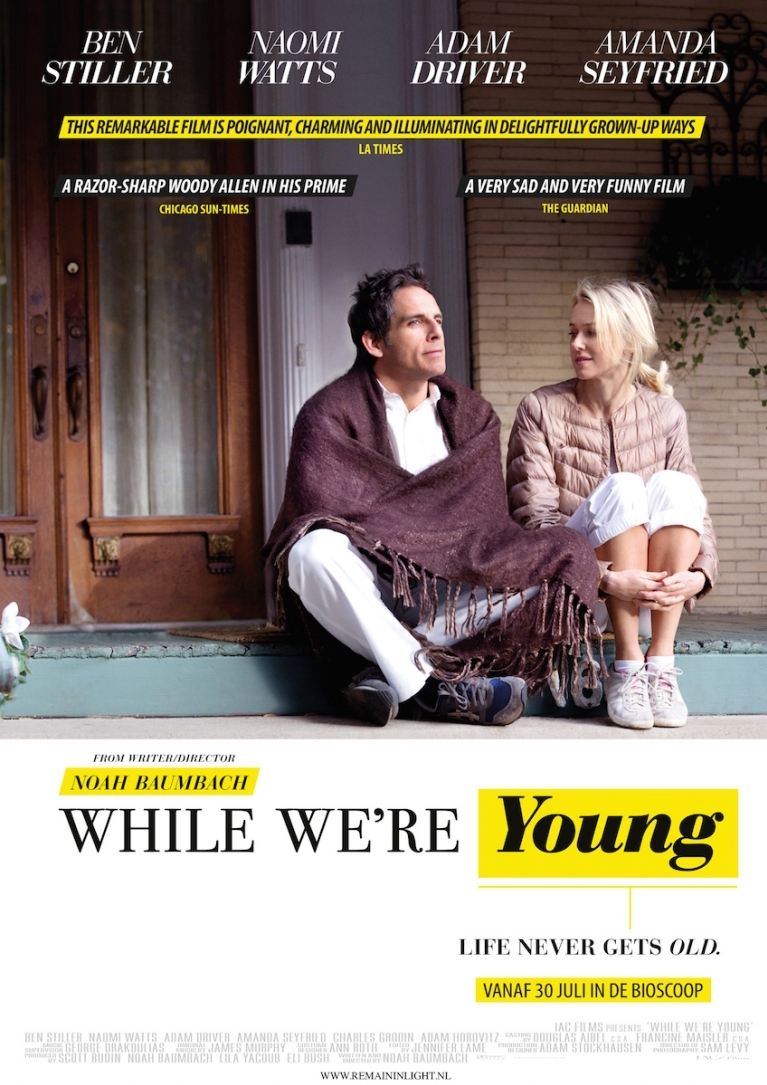 While We're Young poster, © 2014 Remain in Light