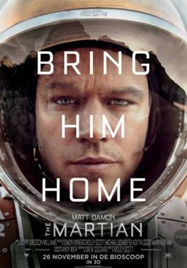 The Martian poster, © 2015 20th Century Fox