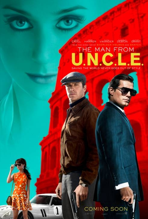 The Man from U.N.C.L.E. poster, © 2015 Warner Bros.
