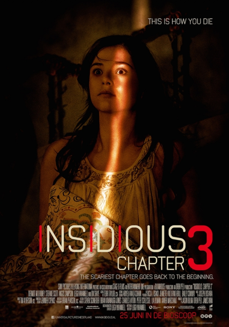 Insidious: Chapter 3 poster, © 2015 Universal Pictures