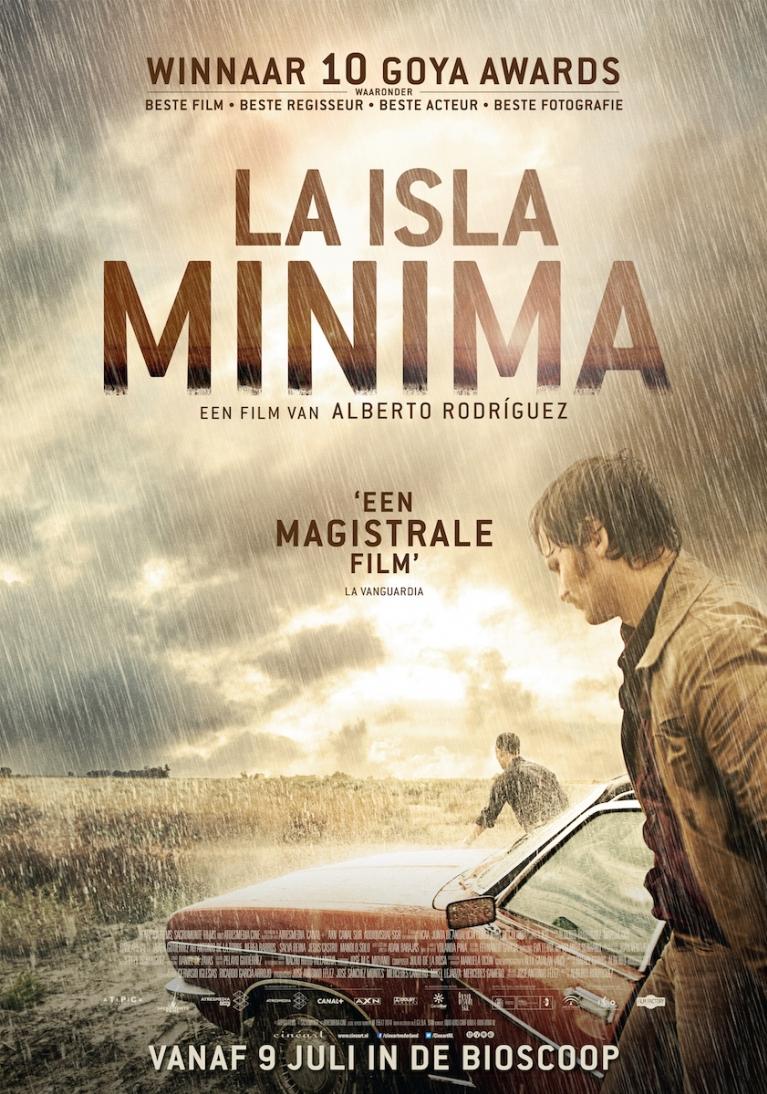 La isla mínima poster, © 2014 Cinéart