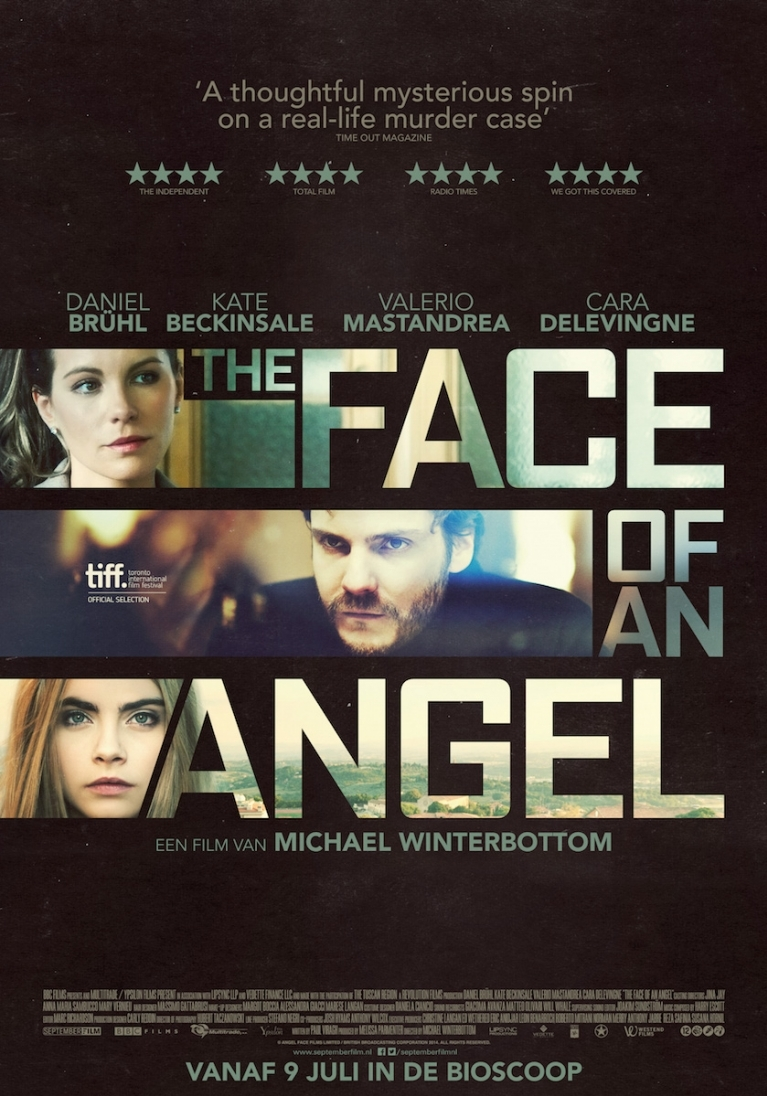 The Face of an Angel poster, © 2014 September