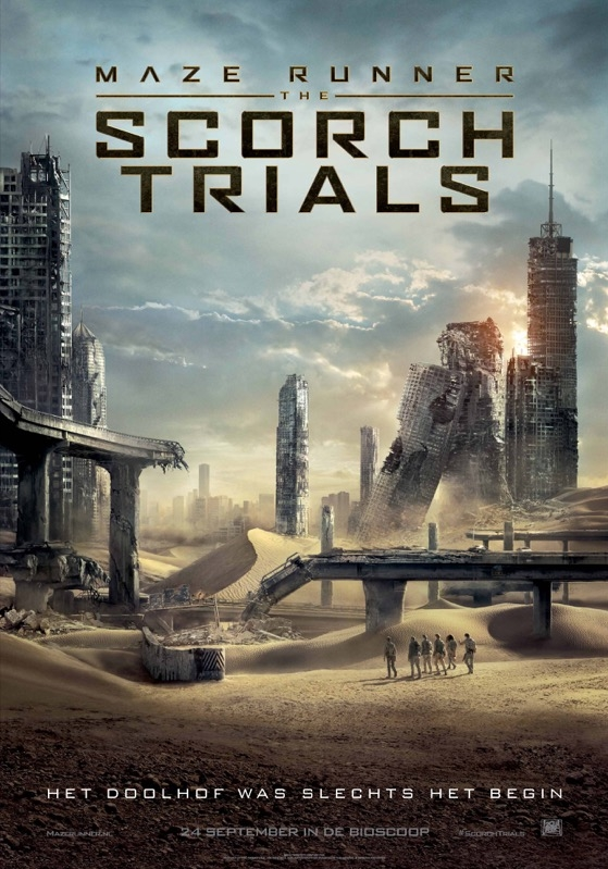 Maze Runner: The Scorch Trials poster, © 2015 20th Century Fox