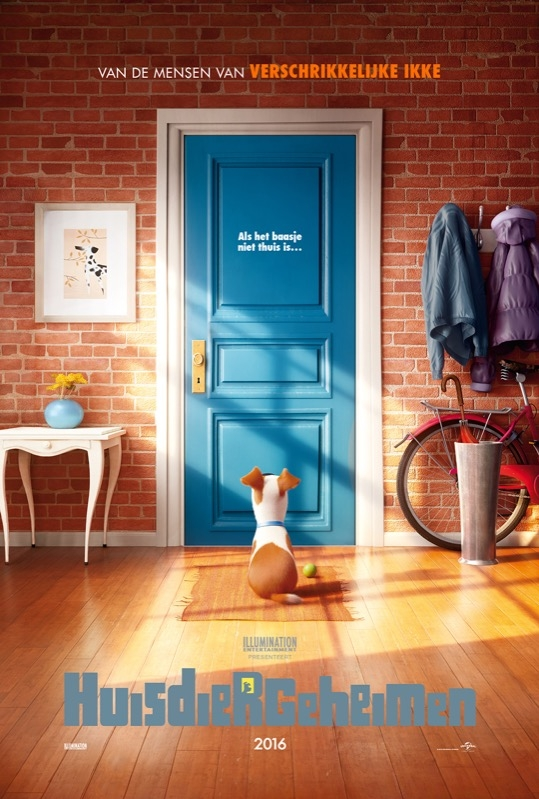 The Secret Life of Pets poster, © 2016 Universal Pictures International