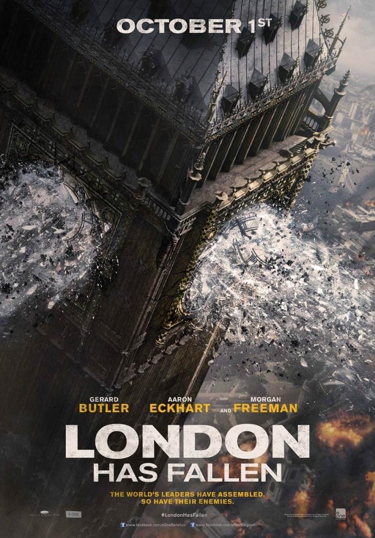London Has Fallen poster, © 2015 Entertainment One Benelux