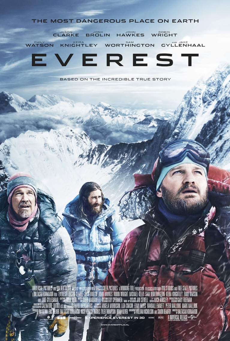 Everest poster, © 2015 Universal Pictures