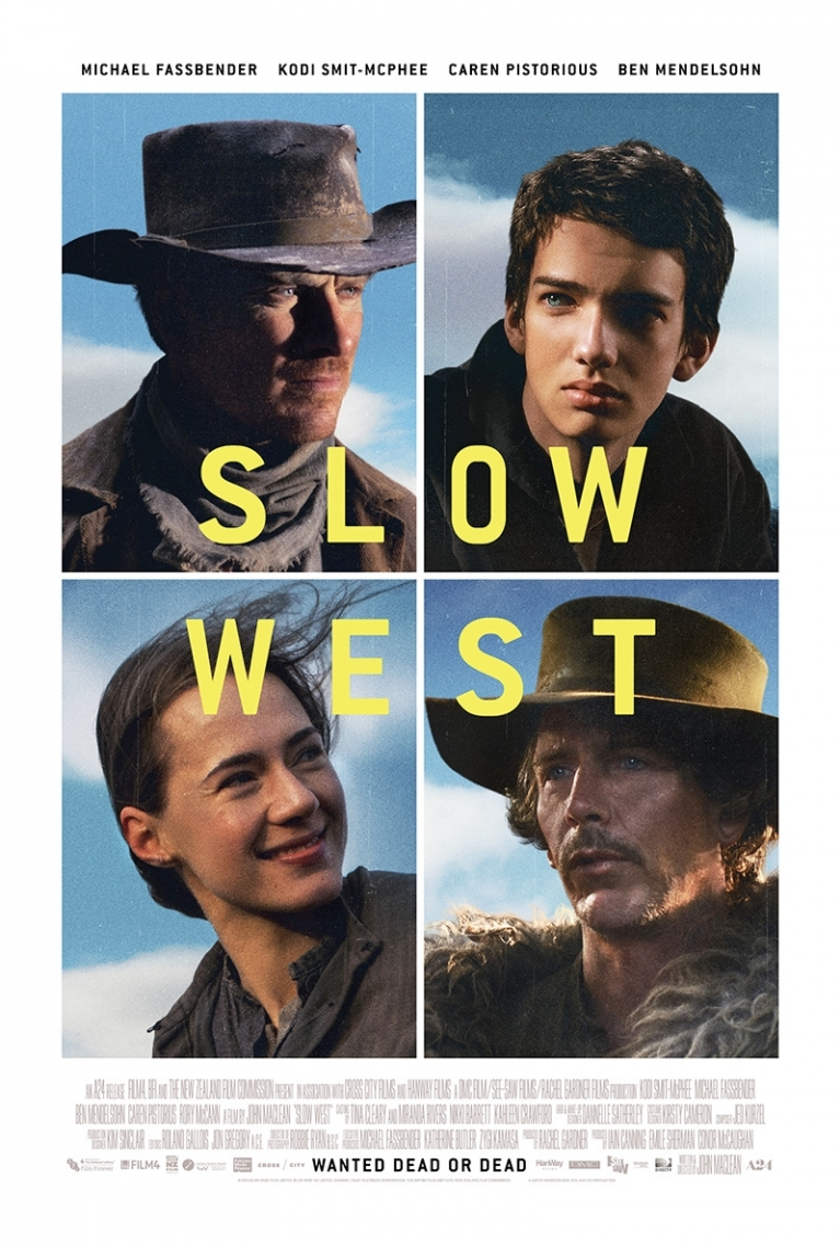 Slow West poster, © 2015 Remain in Light