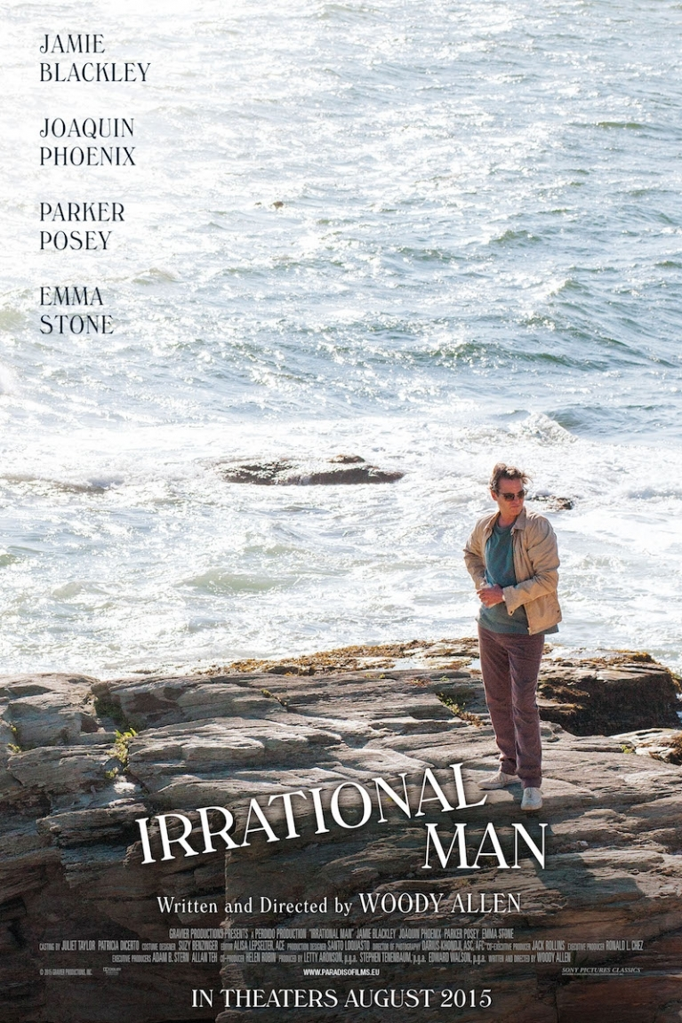 Irrational Man poster, © 2015 Paradiso