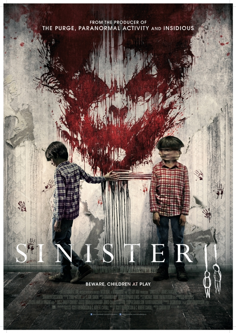 Sinister 2 poster, © 2015 Entertainment One Benelux