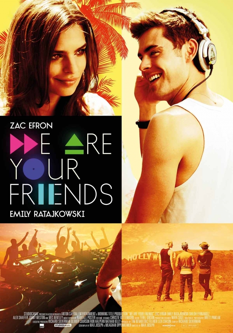 We Are Your Friends poster, © 2015 Dutch FilmWorks