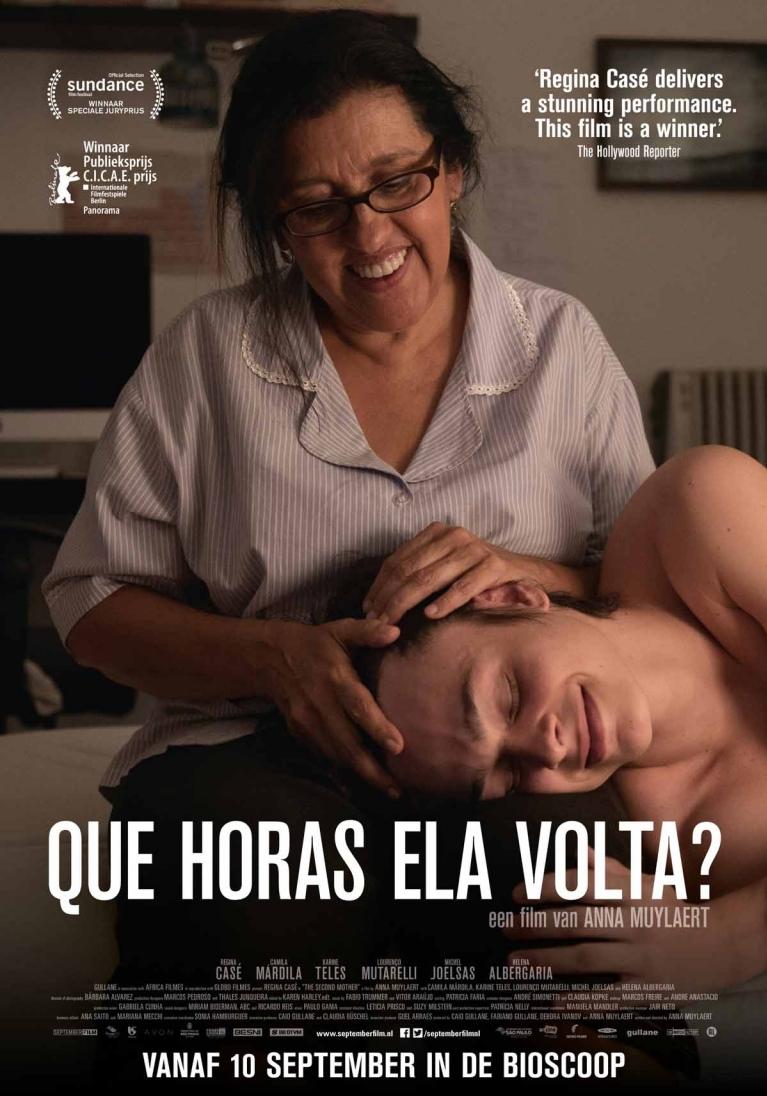 Que Horas Ela Volta? poster, © 2015 September