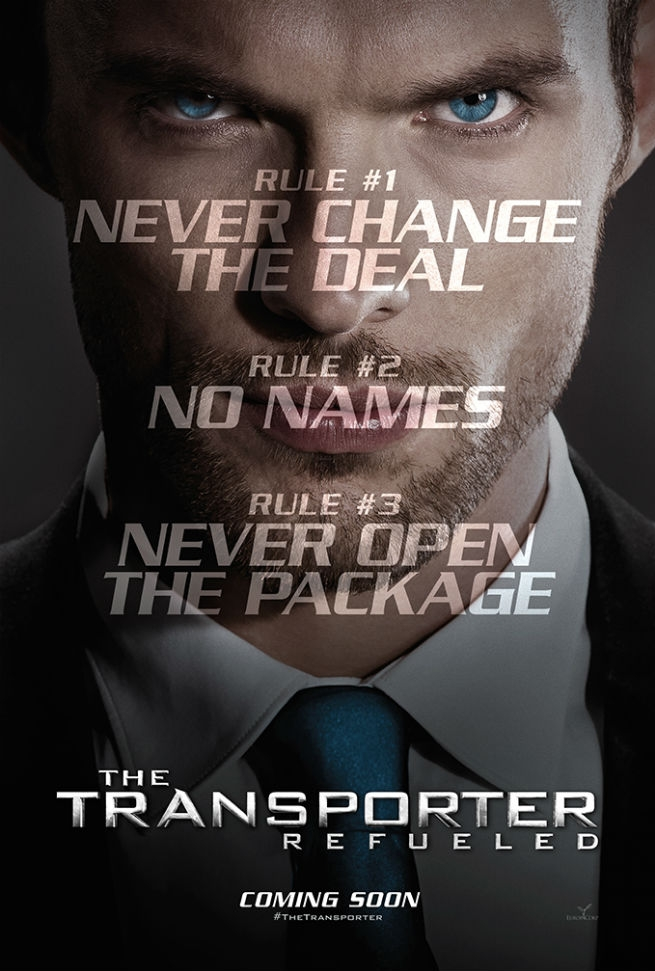 The Transporter Refueled poster, © 2015 Independent Films
