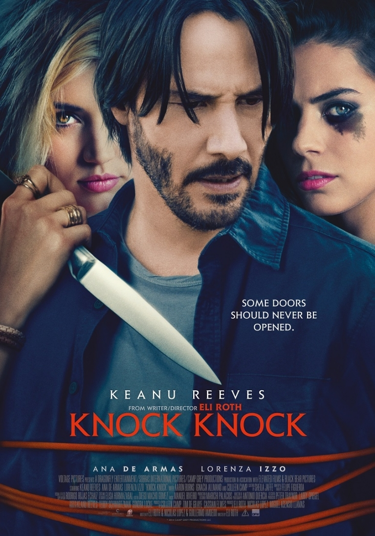 Knock Knock poster, © 2015 Dutch FilmWorks