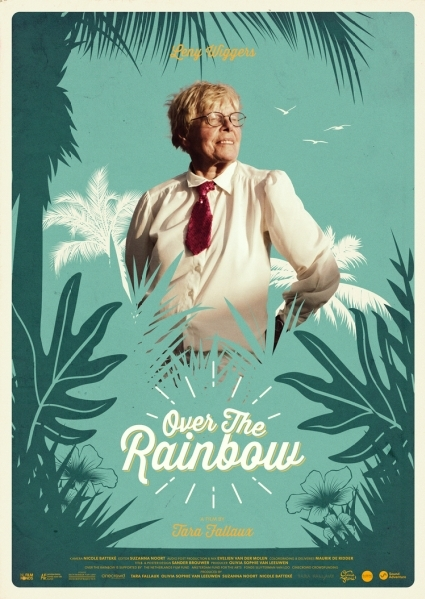Over the Rainbow poster, copyright in handen van productiestudio en/of distributeur