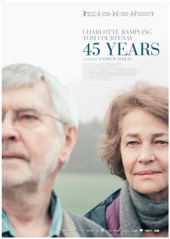 45 Years poster, © 2015 Cinemien