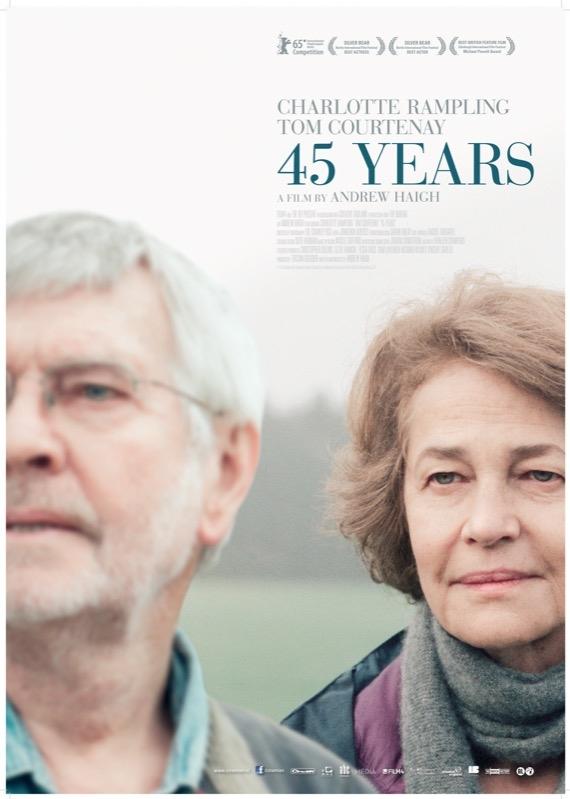 45 Years poster, © 2015 Cinemien