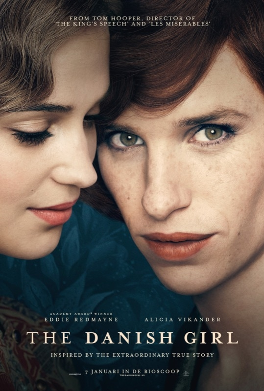 The Danish Girl poster, © 2015 Universal Pictures International