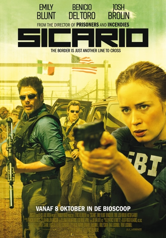 Sicario poster, © 2015 Independent Films