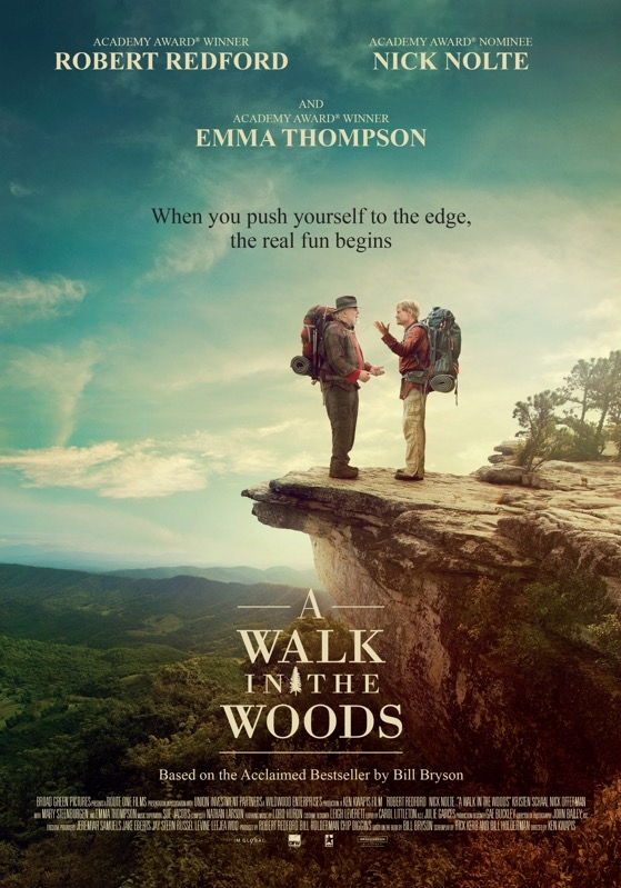 A Walk in the Woods poster, © 2015 Dutch FilmWorks
