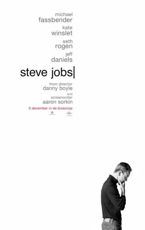 Steve Jobs poster, © 2015 Universal Pictures International