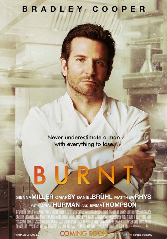 Burnt poster, © 2015 Paradiso