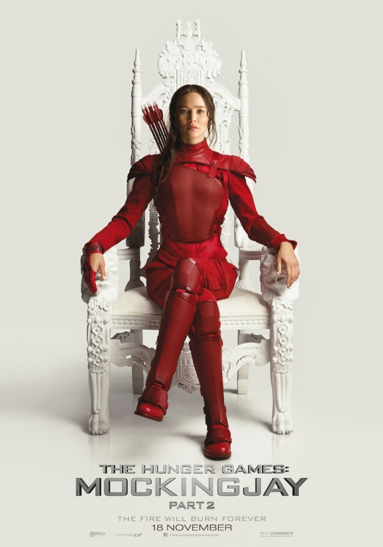 The Hunger Games: Mockingjay - Part 2 poster, © 2015 Independent Films