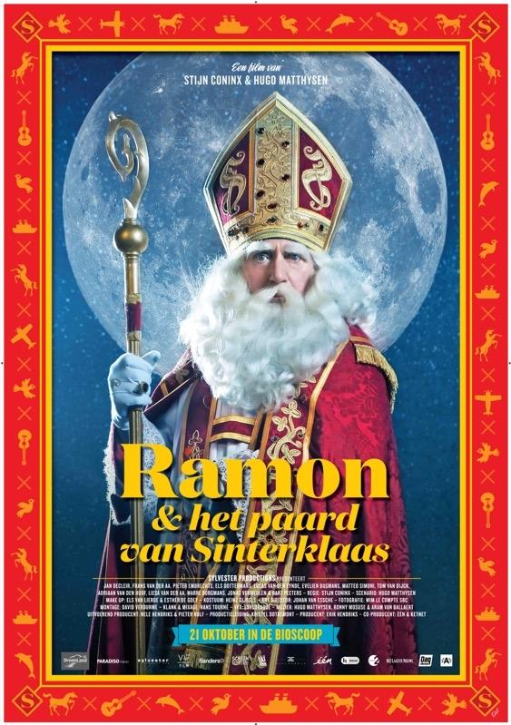 Ramon en het paard van Sinterklaas poster, © 2015 Paradiso