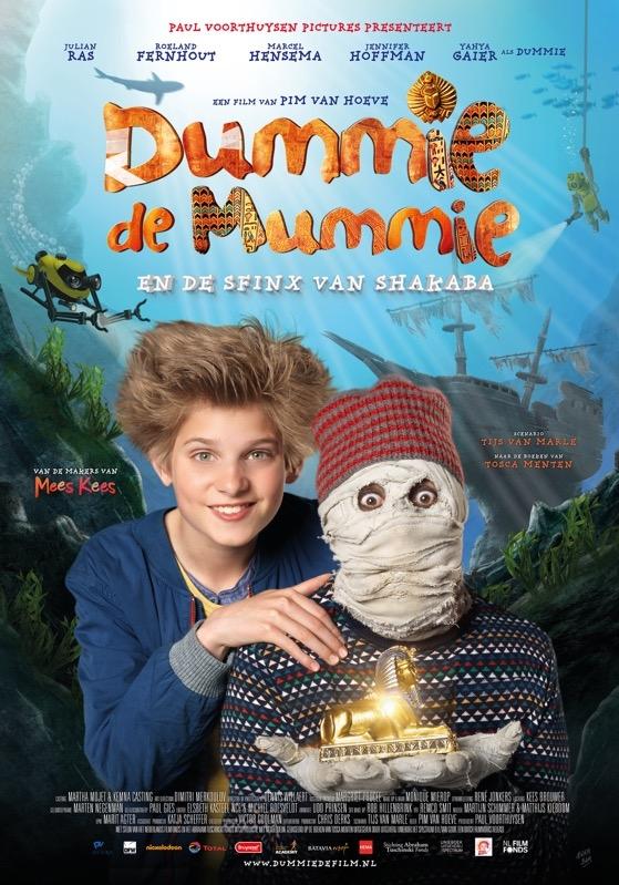 Dummie de Mummie en de Sfinx van Shakaba poster, © 2015 Dutch FilmWorks