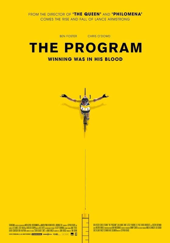 The Program poster, © 2015 Dutch FilmWorks