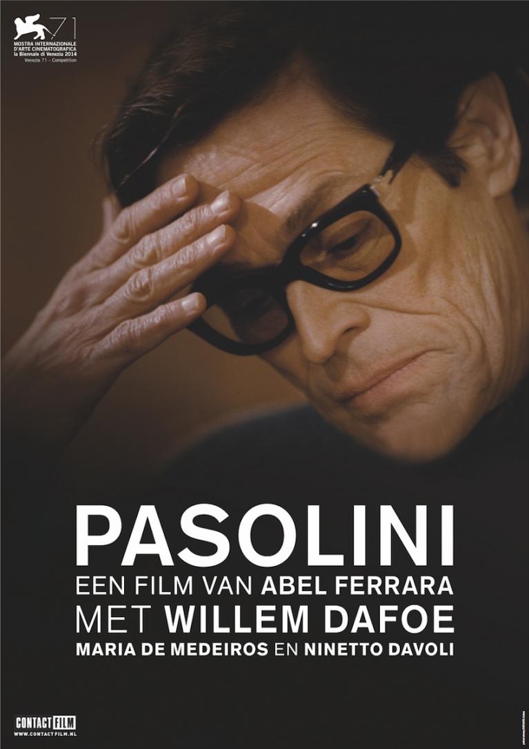 Pasolini poster, © 2014 Contact Film