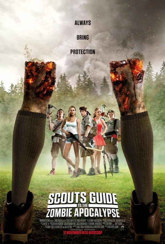 Scouts Guide to the Zombie Apocalypse poster, © 2015 Universal Pictures International