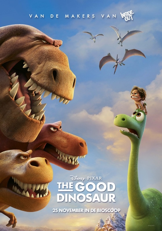 The Good Dinosaur poster, © 2015 Walt Disney Pictures